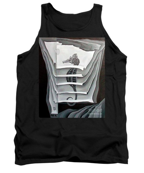 Memory Layers Tank Top by Fei A