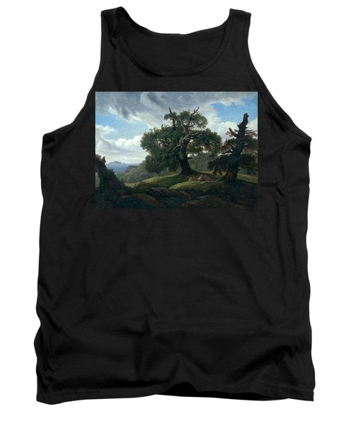 Memory Of A Wooded Island In The Baltic Sea Tank Top