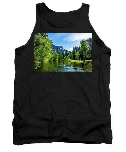 Merced River In Yosemite Valley Tank Top