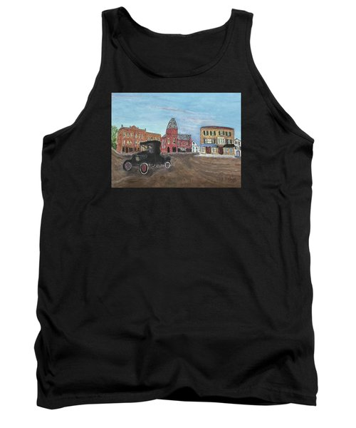 Old New England Town Tank Top