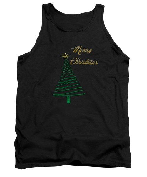 Merry Christmas Tree Tank Top