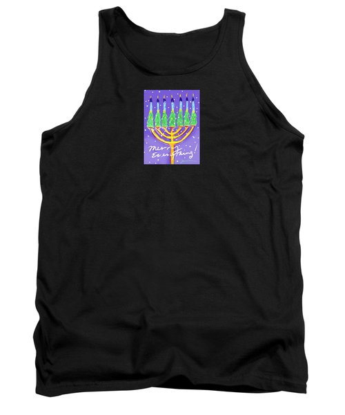 Merry Everything Tank Top by Jean Pacheco Ravinski