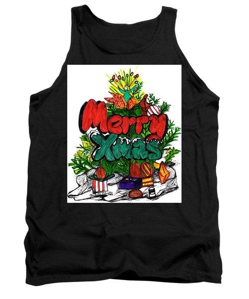 Merry Xmas Tank Top