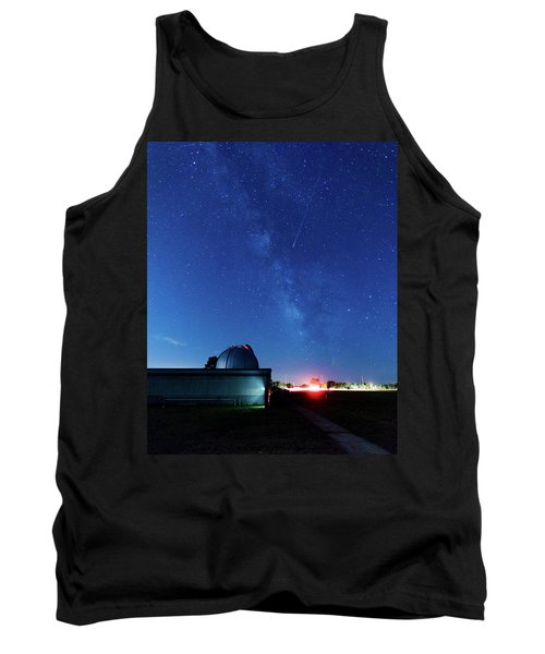 Meteor And Observatory Tank Top by Jay Stockhaus