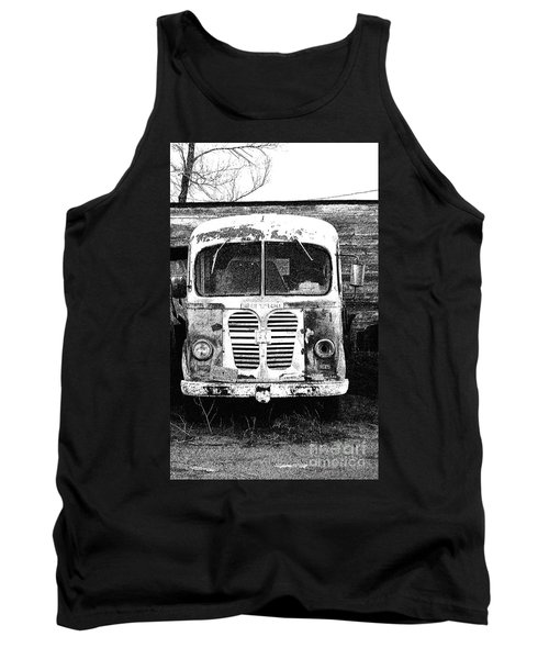 Metro Black And White Tank Top