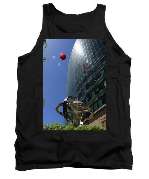 Tank Top featuring the photograph Metropolitan Stranger by Christopher McKenzie