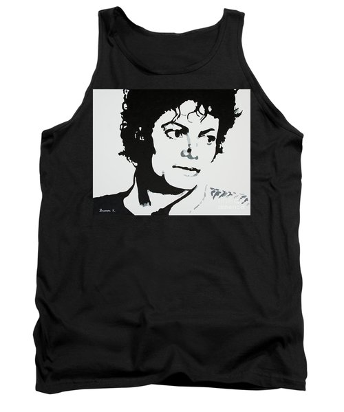 Michael Jackson Tank Top by Katharina Filus