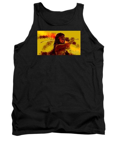 Michonne Tank Top by David Kraig