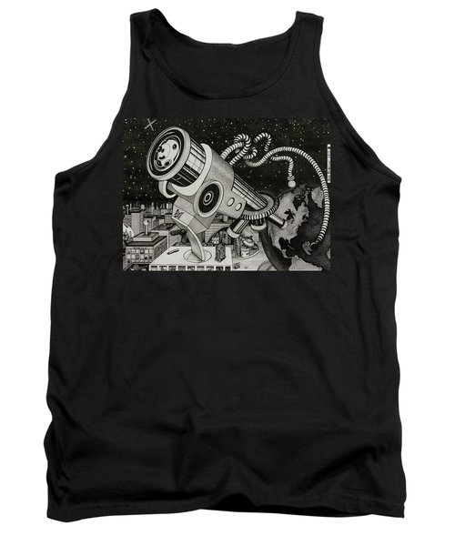 Microscope Or Telescope Tank Top