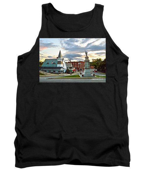 Middlebury Vermont At Sunset Tank Top by Catherine Sherman