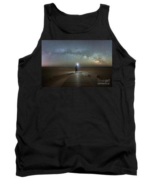 Midnight Explorer At Assateague Island Tank Top