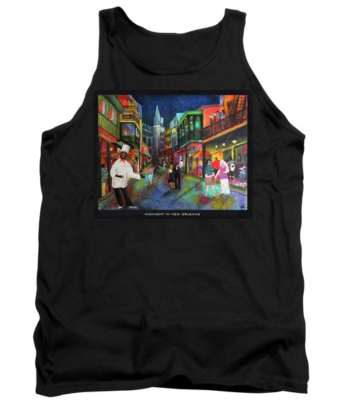 Midnight In New Orleans Tank Top