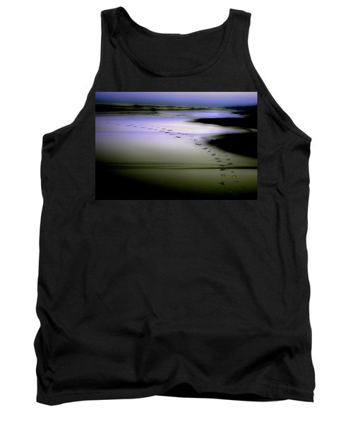 Midnight Swim Tank Top by Gray  Artus