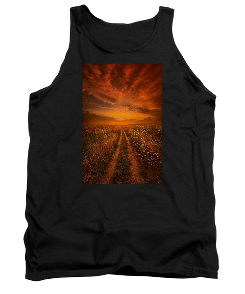 Miles And Miles Away Tank Top by Phil Koch