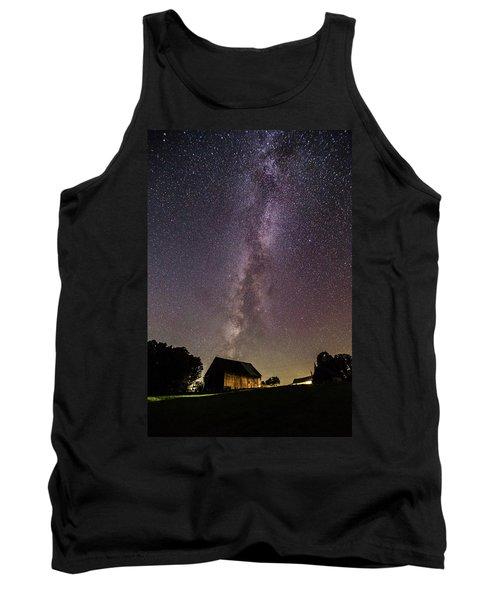 Milky Way And Barn Tank Top
