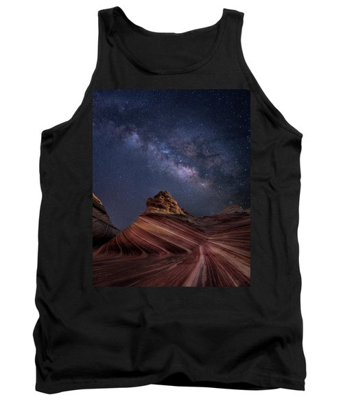 Milky Way And The Wave Tank Top