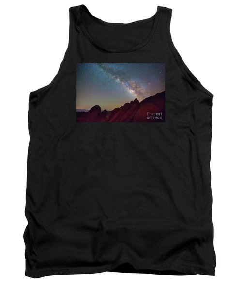 Milky Way In The Alabama Hills Tank Top