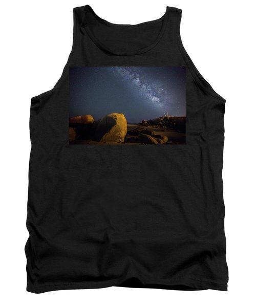 Milky Way On The Beach Tank Top