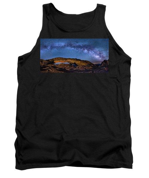 Milky Way Over Mesa Arch Tank Top