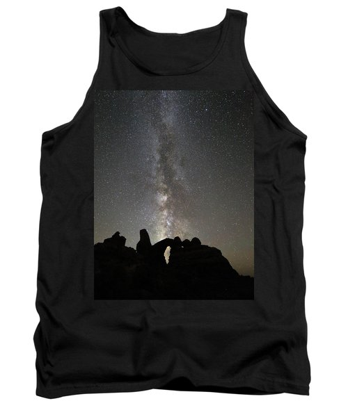 Milky Way Over Turret Arch Tank Top
