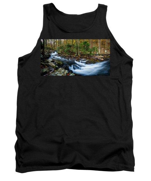 Mill Creek In Fall #2 Tank Top