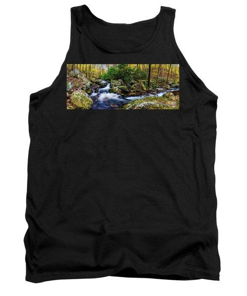 Mill Creek In Fall #4 Tank Top