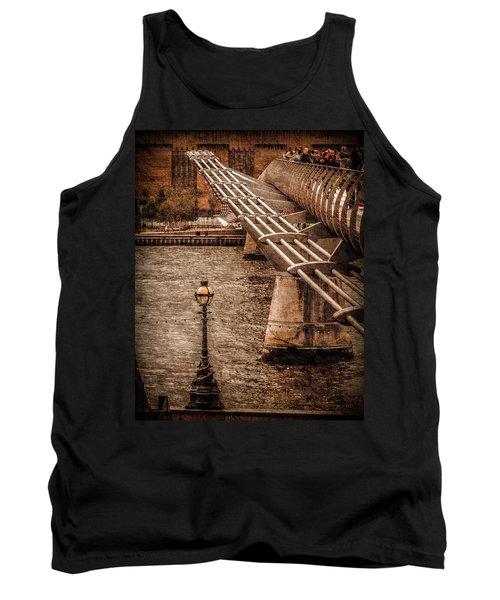 London, England - Millennium Bridge Tank Top