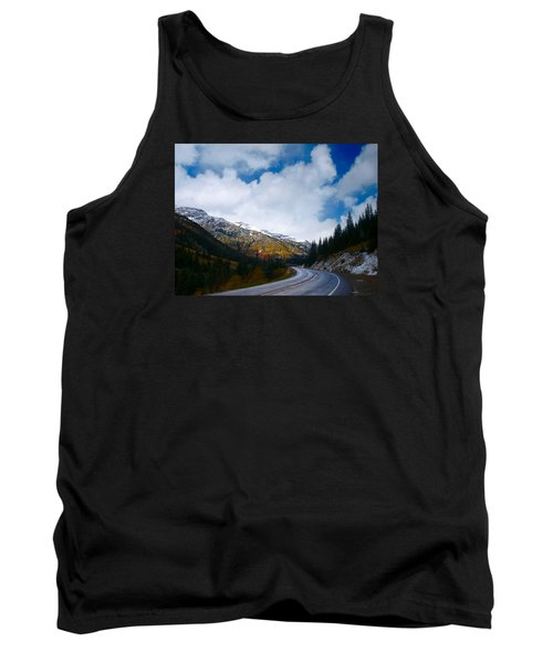Tank Top featuring the photograph Million Dollar Highway by Laura Ragland
