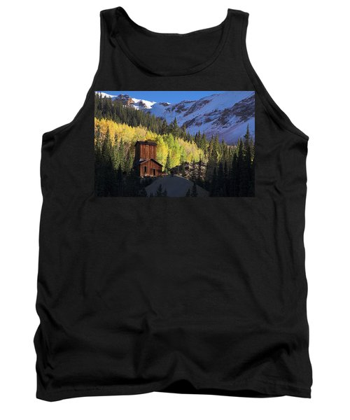 Tank Top featuring the photograph Mining Ruins by Steve Stuller