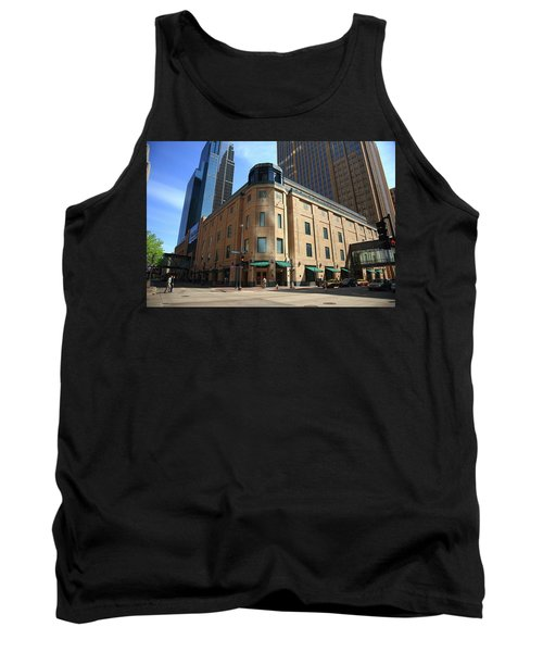 Tank Top featuring the photograph Minneapolis Downtown by Frank Romeo