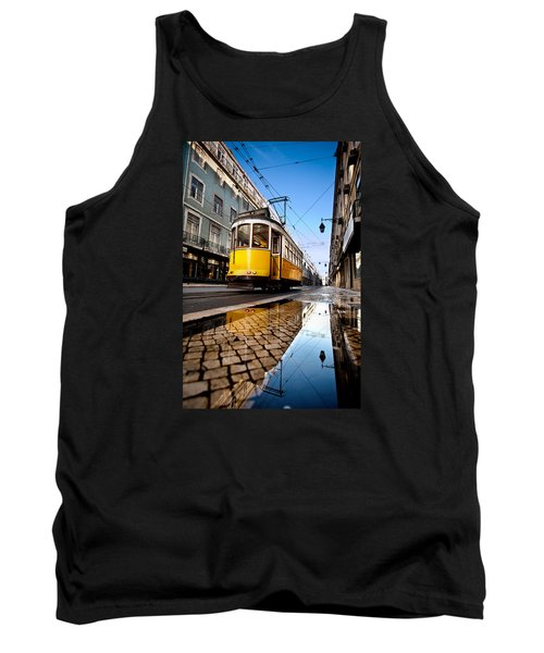 Mirror Tank Top by Jorge Maia