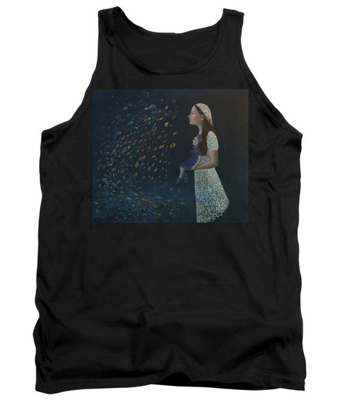Miss Frost Watching The Autumn Dance Tank Top