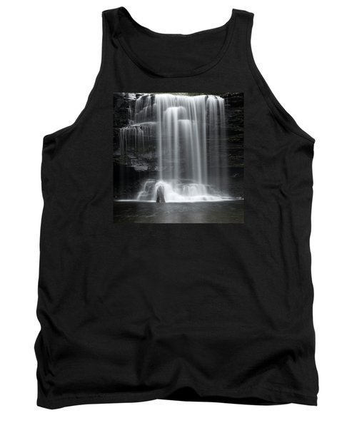 Misty Canyon Waterfall Tank Top by John Stephens