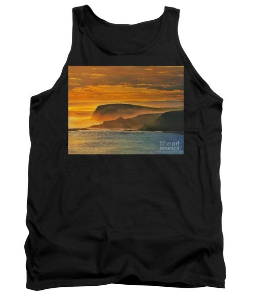 Misty Island Sunset Tank Top by Blair Stuart