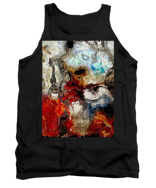 Mixed Emotions Tank Top by The Art Of JudiLynn