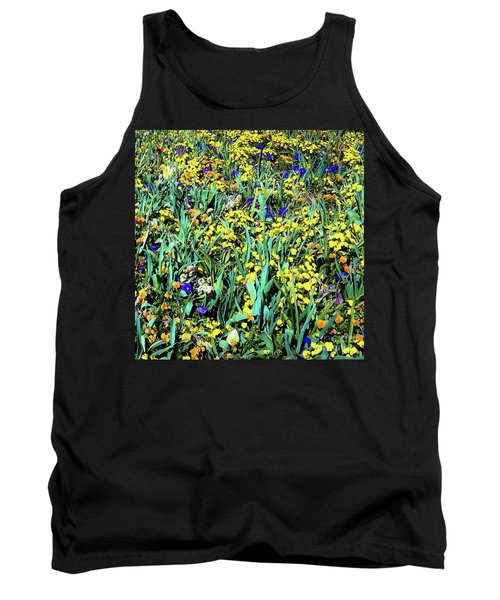 Mixed Flower Garden 515 Tank Top