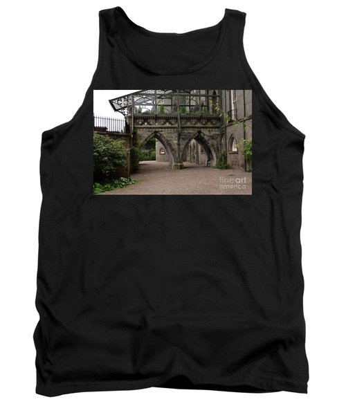 Moat At Inveraray Castle In Argyll Tank Top