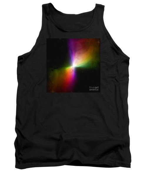 Modern Art- The Boomerang Nebula - Heavenly Bodies Tank Top by Merton Allen