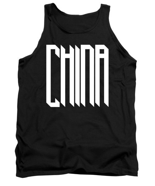 modern gothic style China Tank Top