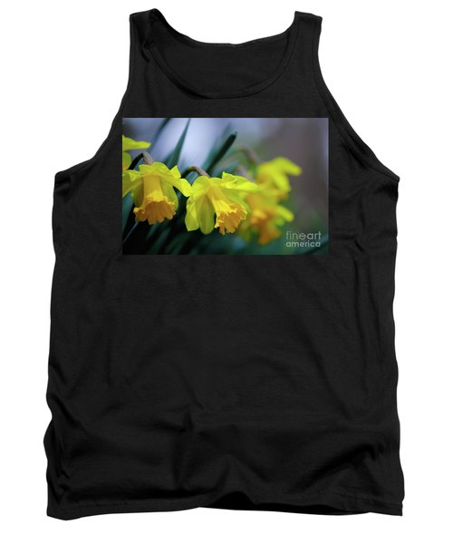 Tank Top featuring the photograph Mom's Daffs by Lois Bryan