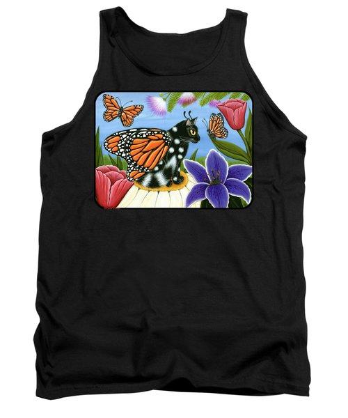 Monarch Butterfly Fairy Cat Tank Top
