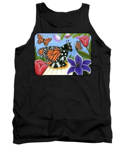 Monarch Butterfly Fairy Cat Tank Top