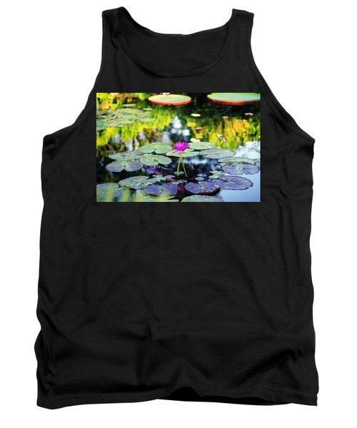 Monet Lilies Tank Top