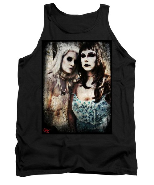 Tank Top featuring the digital art Monique And Ryli 1 by Mark Baranowski