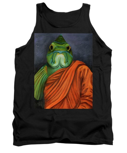 Tank Top featuring the painting Monk Fish by Leah Saulnier The Painting Maniac