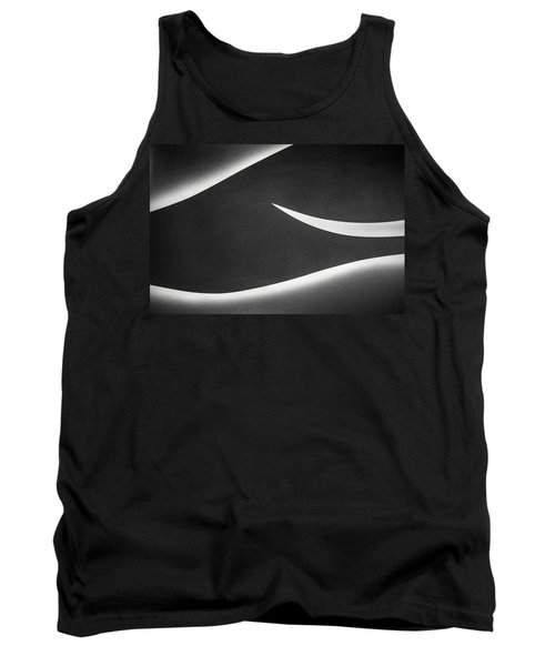 Monochrome Abstract Tank Top