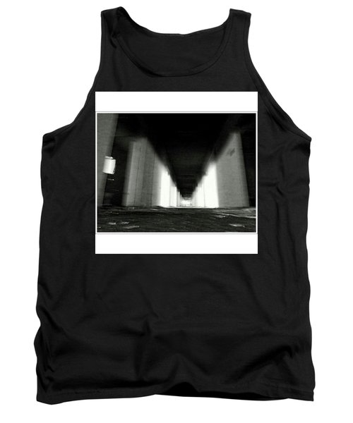 #monochrome  #fuji #finepixs1 Tank Top