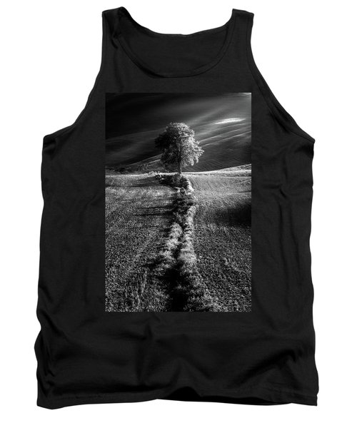 Monochrome Valley Tank Top