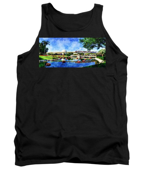 Monorail Red - Coming 'round The Bend Tank Top