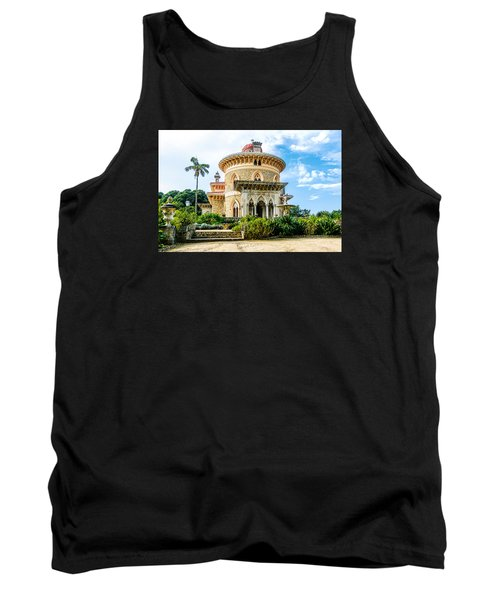Tank Top featuring the photograph Monserrate Palace by Marion McCristall